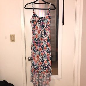 Light flowy flower hi-LO summer dress